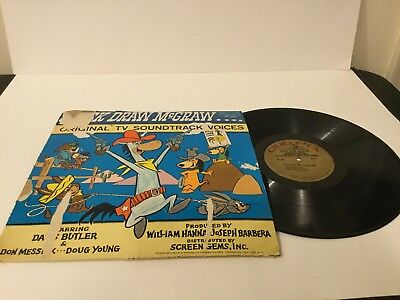 Vintage Quick Draw McGraw Vinyl 33 LP