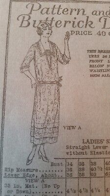 Antique Sewing Pattern #5364 -1918-1923
