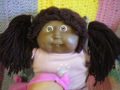 Vintage Black Cabbage  Patch Doll Witth Teeth