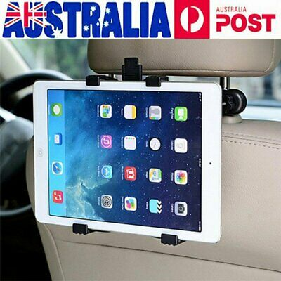360°Car Seat Back Headrest Mount Holder Tablet For IPad Mini GPS Bracket Stand