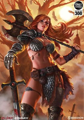 Sideshow - Red Sonja - Queen Of Scavengers - Art Print - Nr. 160/300