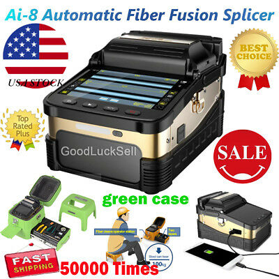 Signal Fire Ai-8 Intelligent Optical Fiber Fusion Splicer Cleaver 50000 Times YS
