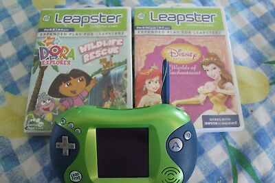 Leapfrog Leapster 2 with 2 games
