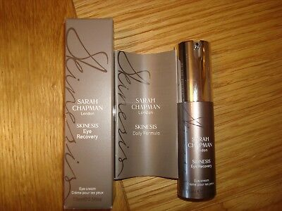New Sarah Chapman London Skinesis Eye Recovery 15Ml From Qvc Boxed + Leaflet