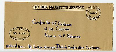 Bahamas cover used Rock Sounds 1970 H M Customs (N245)