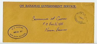 Bahamas cover used Rock Sounds 1977 H M Customs (N244)