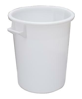 Mr Bucket Man Plasterers Mixing bucket 75L or 3 bag mix White