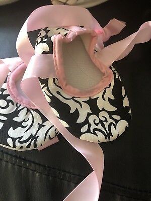 Brand New Baby Girls Shoes 12cm Or Size 4