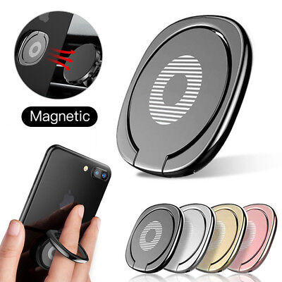 1-4Pcs Phone Ring Finger Holder Car Mount Hook iPhone Stand Mobile Grip GPS iPad
