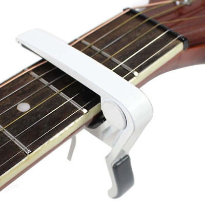 Single Handed Guitar Capo Clamp Electric Acoustic Guitar Quick Trigger Release