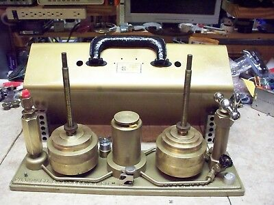 Chandler Engineering 23-1 Dead Weight Tester Complete and tested Excellent cond.