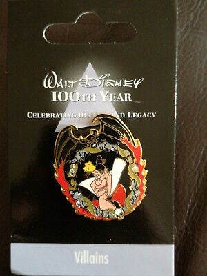 Disney Pin 7058 Japan Disney Store 100th Year - Villains #6 (Queen of hearts)