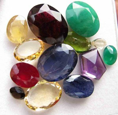 52.20 Crats Mixed Gem Natural Loose Gemstone Mix Lot Wholesale Parcel Lot