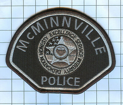 Police Patch  - Oregon - McMinnville