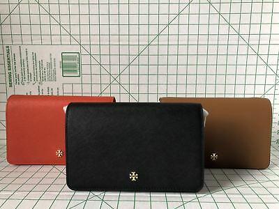f3bf71cf7b2 NWT Tory Burch Emerson Combo Crossbody Bag 49126 Saffiano Leather Various  Colors