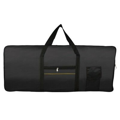 Portable 61-Key Keyboard Electric Piano Padded Case Gig Bag Oxford Cloth H5E5