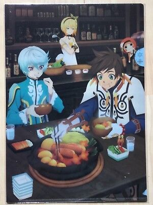 Tales of Series, Clear File,Tales of Zestiria, Sorey & Mikleo, sealed (OVP)