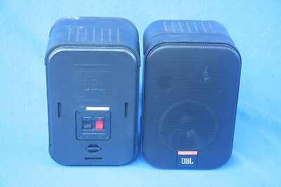 Two JBL Control 1 Speakers.  In Very Good Condition.