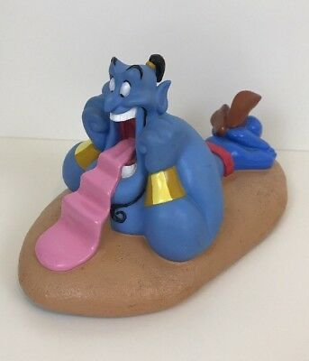 "Disney Aladdin, Genie Money Box Figure, 12"", Rare"