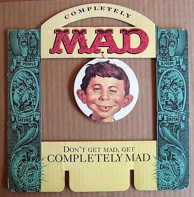 MAD Magazine Completely MAD Book Counter Display topper