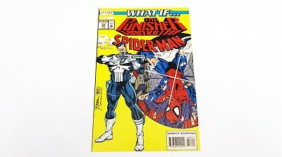 What if The Punisher had Killed Spider-man ? #58 MARVEL Direct Edition Comic