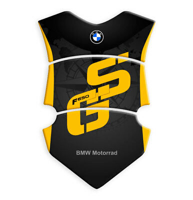 Motorcycle Tank Pad Protector Sticker | (BMW) MOTORRAD F650 GS Yellow