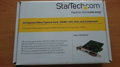 StarTech PCI Express Video Capture Card HDMI,DVI,VGA