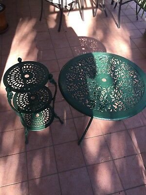 Table and Pot Stand
