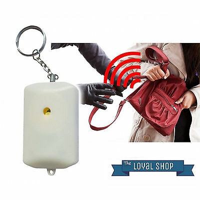 Personal Rape Attack Panic Safety Security Alarm   FREE Shipping