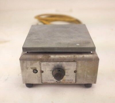 Temco Hot Plate Type 1900 - DEL HP-1915B - 115 Volts - 700 Watts