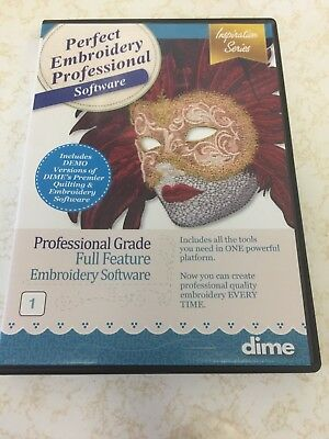 MAGELLAN EMBROIDERY SOFTWARE CD disk version 2 3 5 - $10 00