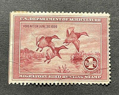WTDstamps - #RW2 1935 - US Federal Duck Stamp - NG ***