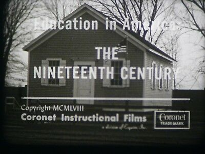 Education In America: The Nineteenth Century 16mm short film 1958 B&W