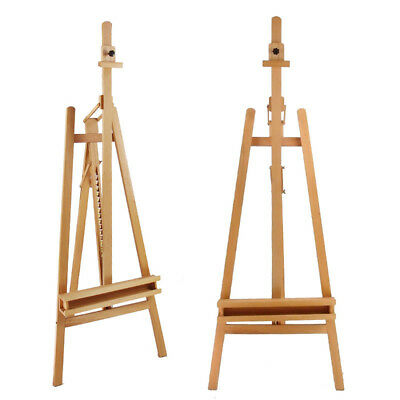 235cm Wooden Tripod Easel Artist Art Painting Stand New Pro Heavy Duty Foldable