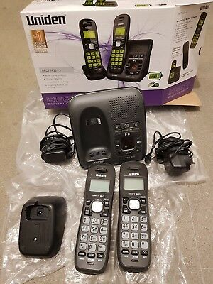 Uniden Dect 1635+1 Digital Phone System With Power Failure Backup