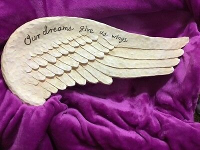 Home Interiors Roma Dowmey Our Dreams Gives Us Wings Accent Wing For Picture