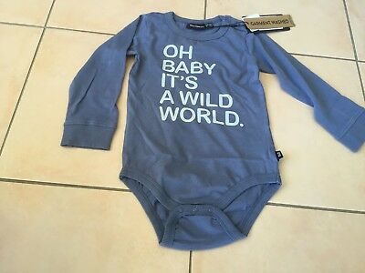 Rock Your Baby New Season Oh Baby Bodysuit  Sz 12-18  Months Bnwt Rrp $39.95