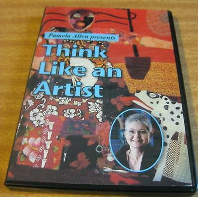 Quilters' Schoolhouse Dvd -Think Like An Artist - With Pam Allen