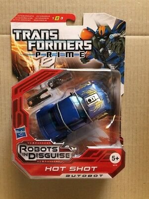 Transformers Prime Hot Shot Deluxe