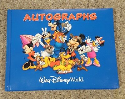 Walt Disney World Parks Official Autograph Book
