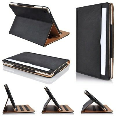 For iPad Air 1 2 Pro 12.9 5th Gen 6th Gen TAN Leather Luxury Magnetic Case Cover