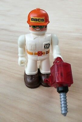 Vintage Figure from Tomy Big Bolt Construction Set.