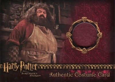 Harry Potter Sorcerers Sorcerer's Stone Rubeus Hagrid Costume Card