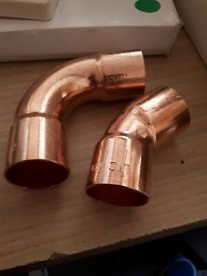Refrigeration / Air Conditioning Copper Elbows/ 45s