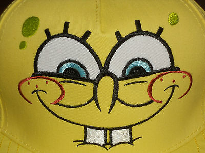 Spongebob Squarepants Hat Youth Size Cap  from Seaworld   BNWT