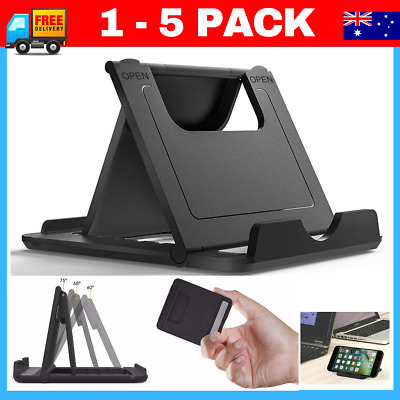 Foldable 360° Universal Desk Mount Cradle Holder Stand  Phone iPad Tablet