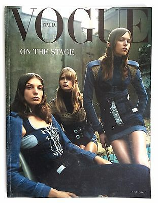 VOGUE ITALIA SUPPLEMENT JULY 2003 The Fashion Manual Autumn Winter A/W 2003-2004