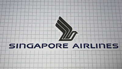Airline Sticker Singapore Airlines- Outdoorgeeignet