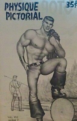 Physique Pictorial Volume 16 number 2 1967 gay interest