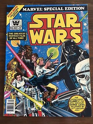 Special Edition Treasury Star Wars 2 Giant Size Comic Book  Whitman Variant Vf